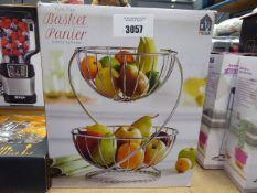 Boxed 2 tier basket pannier