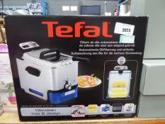 49 Boxed Tefal filter fryer