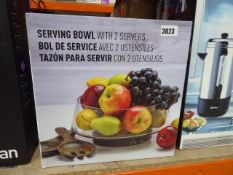 Boxed serving bowl
