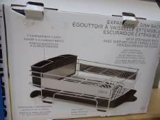 Boxed dish rack