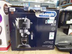 61 Boxed Delonghi Espresso coffee dispenser