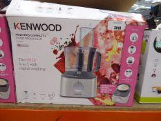 Boxed Kenwood multi pro compact plus food processor