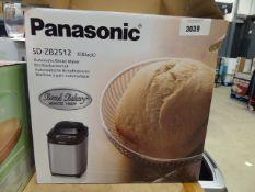 Boxed Panasonic automatic bread maker