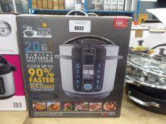 Boxed Pressure King Pro digital pressure cooker