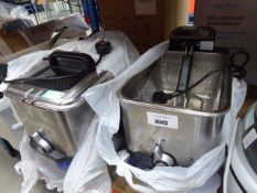 Boxed Tefal filter fryers