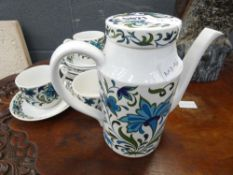 Midwinter floral patterned part coffee service