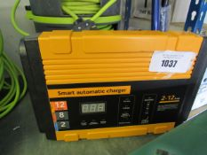 Smart automatic car charging unit