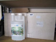 (1028) 2 boxes containing conservatory and greenhouse cleaner