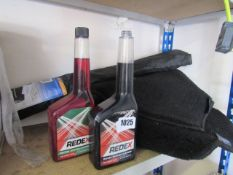 (1027) Quantity of Michelin car mats, frost locker and 2 tubs of petrol and diesel system cleaners