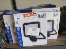 14 LED 2400 lumen security lights