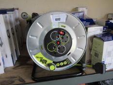 (1) 2 Plugmaster 40m cable reels
