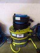 (9,10) 3 10m cable reels with 2 4m cassette cable reels