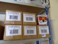 (1051) 5 boxes of The Big Cheese mouse and rat bair