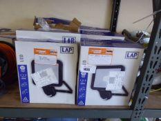 15 LED 2400 lumen security lights