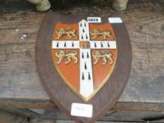 Kings college of Cambridge shield insignia