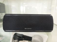 Sony SRS-XB31 Bluetooth speaker with party light