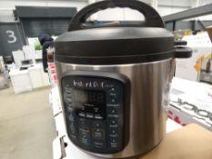 (TN70) Boxed instant pot multi use pressure cooker