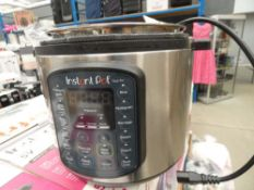 (TN8) Boxed instant pot multi use pressure cooker