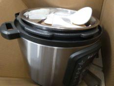 (TN71) Boxed instant pot multi use pressure cooker