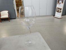 Boxed decorative wine glass