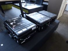 3 heavy duty Pelican travel cases