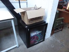 A small comms cabinet with Trade Tech Security Firewall, Netgear patch panel, plus Assynia patch