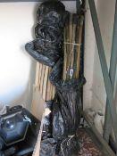 2 bundles of drain rods