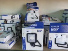 11 boxed LED 1600 lumen small size outdoor security lights