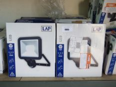 14 boxed Diall LED 4000 lumen XL security lights