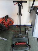 Black + Decker 12'' electric lawn raker