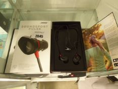 Bose SoundSport Pulse heart rate sensor bluetooth earphones