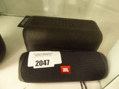 JBL Flip 5 bluetooth speaker with foam cover