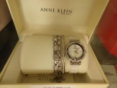 Anne Klein ladies wristwatch giftset