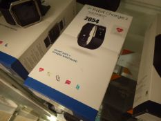 FitBit Charge 2 fitness wristband with box