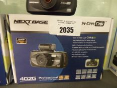 Nextbase 402G in car dashcam with mount and box