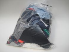 Bag containing gents shirts, t-shirts, etc