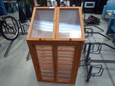 Small wooden cold frame