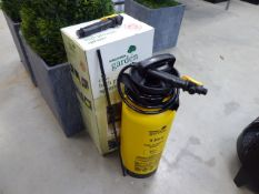 Boxed high pressure garden sprayer
