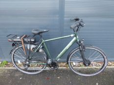 Vitesse Motion green gents electric bike