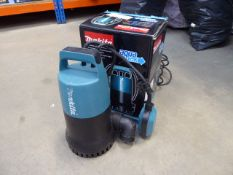 Boxed Makita submersible pump