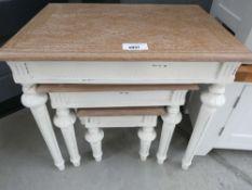1060 Montpellier Shabby Chic Nest of Tables (34)