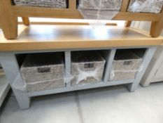 Chester Grey Painted Oak Hall Bench (39)
