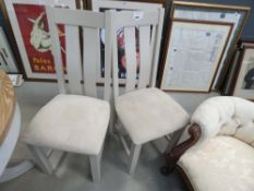 1005 2 Portland Painted Dining Chairs (74)