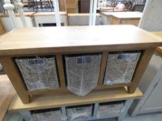 Rustic Oak Hall Bench (31)