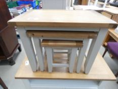 Chester Grey Painted Oak Nest of 3 Tables (18)