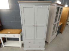 Ashbourne Grey Painted Large Larder Unit (6)