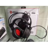 MSI gaming headset Model DS502, with box