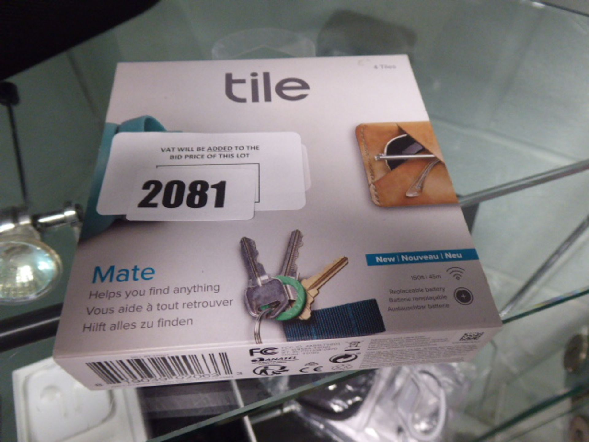 Tile Mate tracking tile set in sealed box