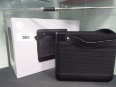 Bang and Olufsen Beolit 15 portable bluetooth speaker with box