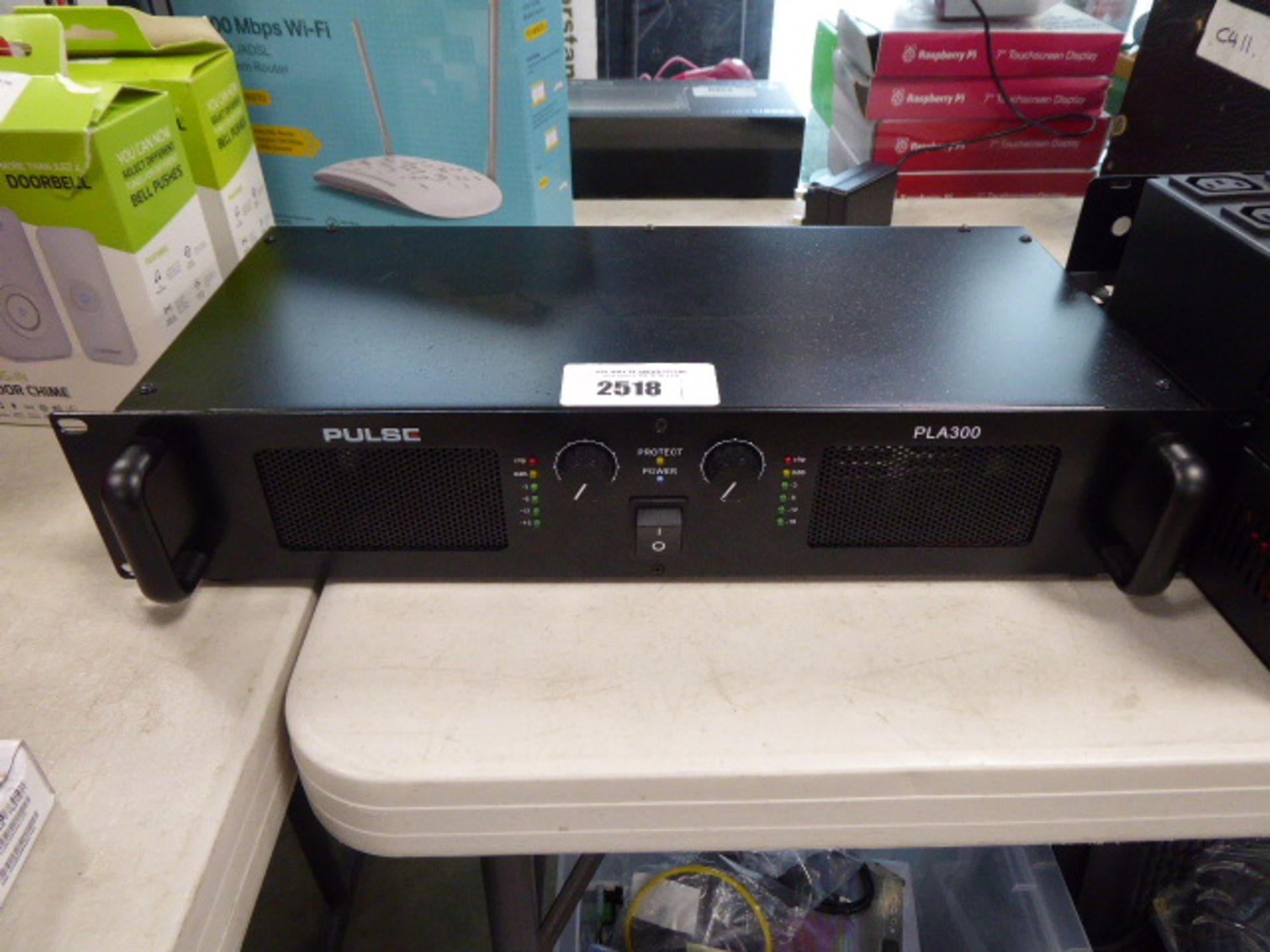Pulse PLA300 amplifier